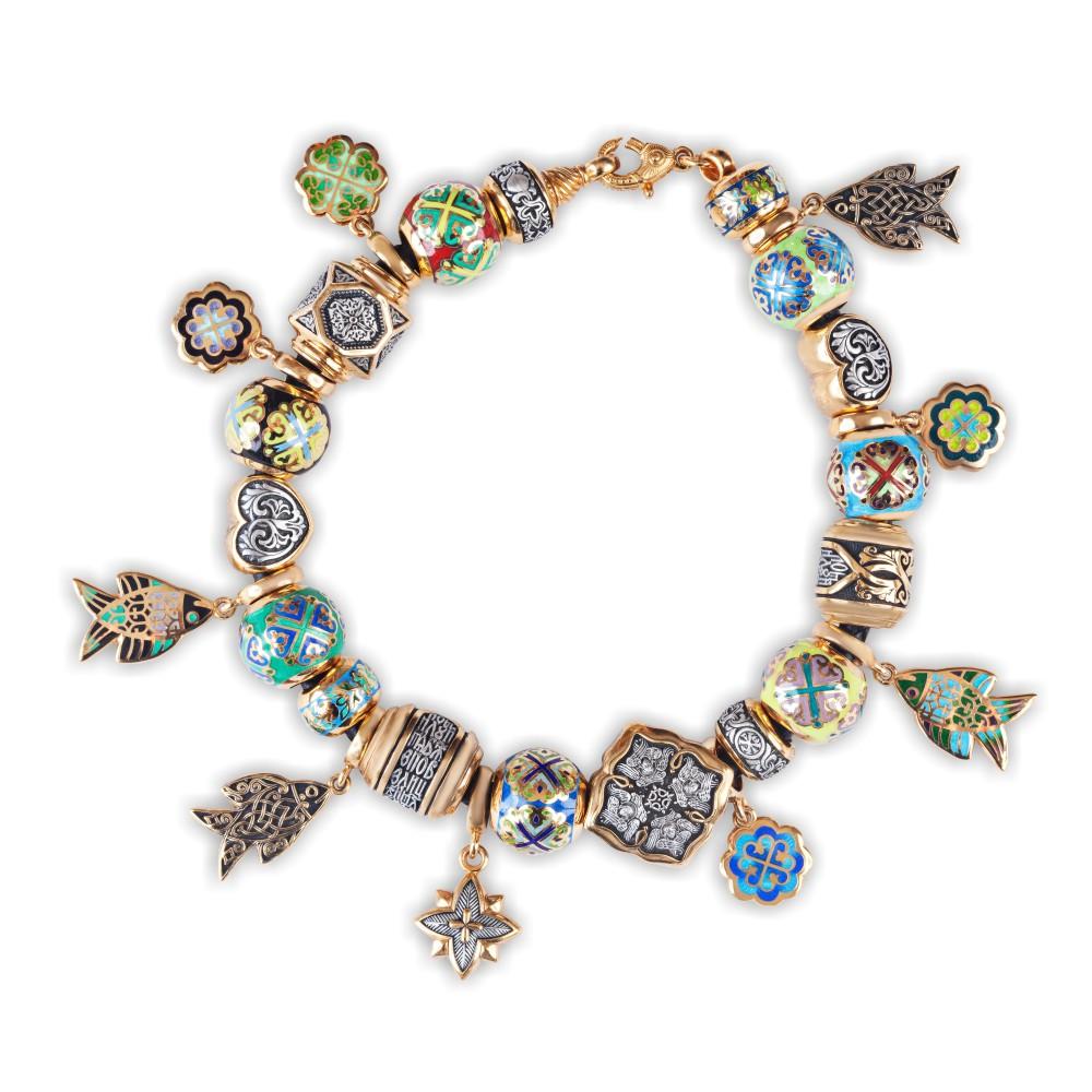 браслеты серебряные с камнями женские